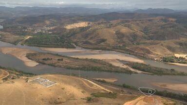 Seca atinge norte do estado e ameaça produções agrícolas, no ES - Alguns rios já estão secos e outros com o nível de água muito abaixo do comum.