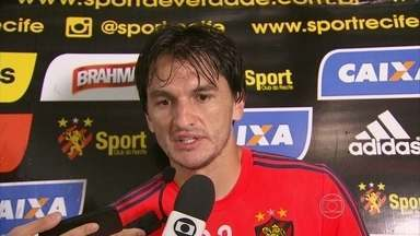 Matheus Ferraz fala sobre momento do Sport - Matheus Ferraz fala sobre momento do Sport