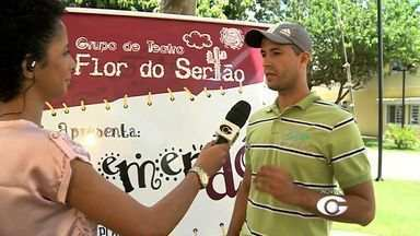 Musical infantil estrelado pela Companhia de Teatro Flor do Sertão acontece em Arapiraca - Oito personagens infantis vão apresentar o espetáculo Remendó.