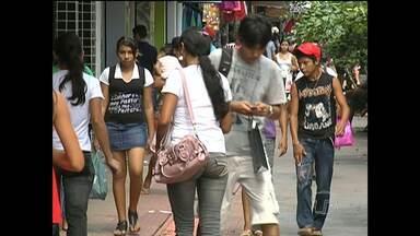 Serviços foi único setor a criar empregos em Santarém - Comércio foi a área com mais fechamento de postos de emprego.