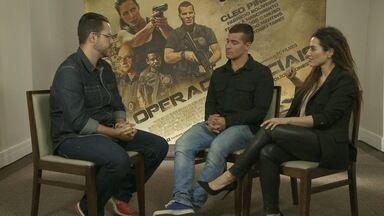 Cléo Pires e Thiago Martins falam ao Madrugada sobre novo filme - Operações Especiais é o nome do novo trabalho da dupla e promete muita ação.