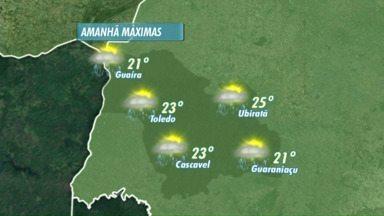 Meteorologistas alertam para novos temporais - As temperaturas ficam mais baixas no fim de semana.