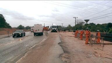 Obras devem prejudicar o tráfego de veículos nas rodovias do Vale do Itajaí - Obras devem prejudicar o tráfego de veículos nas rodovias do Vale do Itajaí