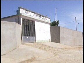 Prefeitura realiza obras de melhorias no cemitério de Capitão Andrade - Problema foi mostrado várias vezes no MG Inter TV.