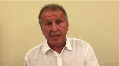 Zico fala sobre candidatura à presidência da FIFA e pede uma reformulação na entidade - Brasileiro convoca um debate do mundo do futebol para criar uma nova Fifa. Michel Platini recorre das acusações de corrupção para disputar a presidência da entidade.