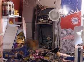 Criminosos explodem caixa eletrônico em loja de conveniência no centro de Palmas - Criminosos explodem caixa eletrônico em loja de conveniência no centro de Palmas