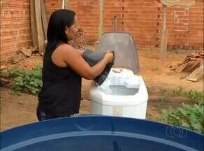 Moradores de Pedro Afonso reclamam da falta de água na cidade - Moradores de Pedro Afonso reclamam da falta de água na cidade