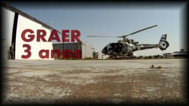 Graer será destaque no Paraná TV primeira edição - A partir de segunda-feira você vai ver o trabalho do Grupamento Aéreo em Londrina que está completando 3 anos.