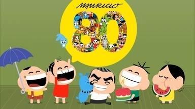 Criador da Turma da Mônica, Mauricio de Sousa faz 80 anos em outubro - Cartunista transformou Poliana Abritta e Tadeu Schmidt em animação. Melhor maneira de buscar inspiração é sentar com crianças, diz Mauricio.
