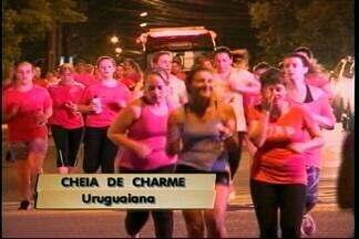 Corrida noturna dá largada às comemorações de Outubro Rosa em Uruguaiana no RS - Assista ao vídeo.