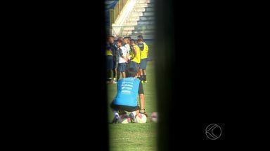 Tupi-MG faz treino a portas fechadas antes de partida contra Asa de Arapiraca - Jogo de volta acontece na próxima segunda-feira (19), às 20h30, no Estádio Municipal de Arapiraca.
