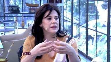 Mais Você recebe Bárbara Paz, a Nelita de 'A Regra do Jogo' - A atriz fala da bipolaridade, doença que acomete sua personagem na novela