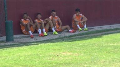 Fluminense se prepara para encarar o Cruzeiro e o forte calor - Equipe aumentou cuidados nutricionais e físicos para evitar sustos com a condição física dos jogadores.