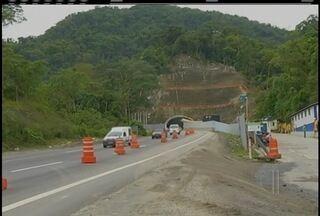 Obra da nova subida da Serra, RJ, pode ter atraso pela falta de funcionários - Funcionários apontam falta de verbas.