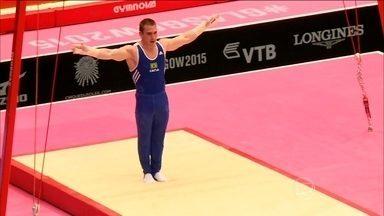 Brasileiros disputam vaga olímpica no Mundial de Ginástica em Glasgow - País nunca participou da competição por equipes masculina em uma Olimpíada.