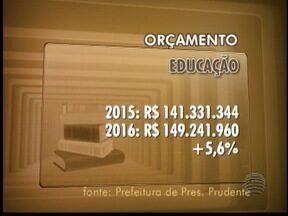 Educação pode ter o maior orçamento em 2016 - Previsão é de mais de R$ 149 milhões, aumento de 5,6%.