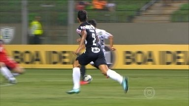 São Paulo e Atlético-MG vence na 32ª rodada do Brasileirão - São Paulo vence o Coritiba por 2 a 1. Galo bate a Ponte por 2 a 1.