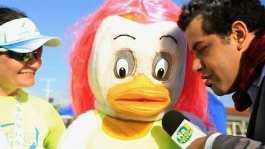 Na Esportiva: veja os personagens curiosos da I Corrida TV Verdes Mares - Veja o episódio no Globo Esporte