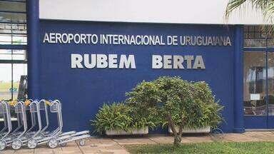 Viagens áreas entre Uruguaiana e Porto Alegre são retomadas após dois anos - Governo lançou nesta segunda (26) o Programa Estadual de Desenvolvimento da Aviação Regional.