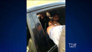 Presos dois suspeitos de estuprar passageira de ônibus no interior do MA - Presos dois suspeitos de estuprar passageira de ônibus no interior do MA