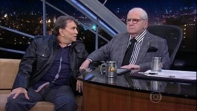 Jô Soares conversa com Dedé Santana - Humorista comenta algumas histórias de bastidores do grupo os Trapalhões