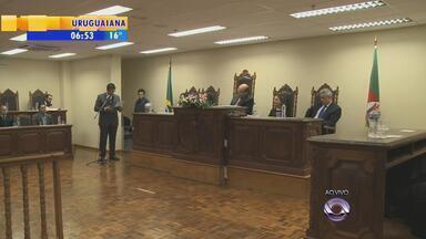 Centro Judiciário de Solução de Conflitos e Cidadania é inaugurado em Uruguaiana, RS - Objetivo é diminuir o número de processos que atrasam o trabalho do judiciário.