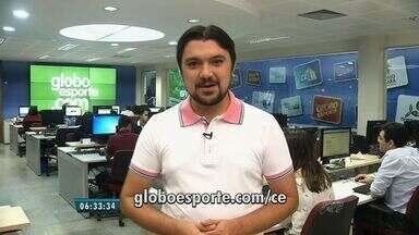 Confira os destaques do GloboEsporte.com nesta quinta-feira (05) - Saiba mais em GloboEsporte.com/ce.