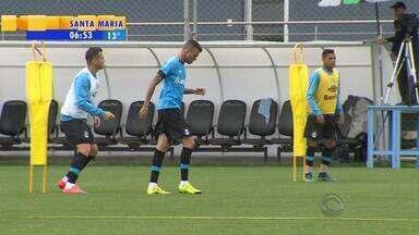 Esporte: Luan volta a treinar normalmente e deve jogar contra Sport - Volante Wallace também está de volta, após suspensão.