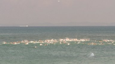 Praia de Inema sedia última etapa do Campeonato Brasileiro de Maratonas Aquáticas - Competições acontecem até domingo (8) na Base Naval de Aratu.