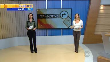 Trânsito: confira as informações da manhã de segunda-feira (9) na Região Metropolitana - Assista ao vídeo.