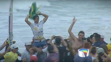 Miguel Pupo fatura etapa do QS de Maresias - Título garante ao surfista de São Sebastião a permanência na elite do surfe mundial