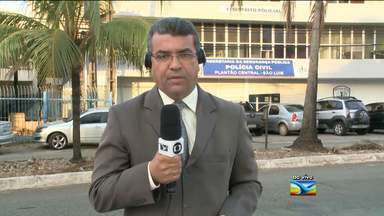 Criança de três anos de idade é atingida de raspão no braço e na barriga em São Luís, MA - Uma criança de três anos de idade foi atingida de raspão no braço e na barriga. O repórter Marcial Lima tem os detalhes.