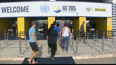 Evento organizado pela ONU começa hoje no Centro de Convenções, em João Pessoa - O Fórum de Governância na Internet deve contar com representantes de mais de 140 países.