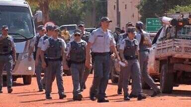 Forças de segurança fazem operação para desocupar garimpo em Pontes e Lacerda - Forças de segurança fazem operação para desocupar garimpo em Pontes e Lacerda