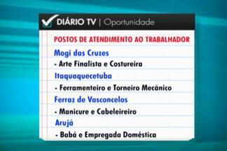 Confira as vagas de emprego disponíveis nos PATs do Alto Tietê - As unidades, juntas, oferecem mais de 600 oportunidades, em diversas áreas.