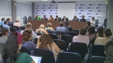 Audiência discute queimadas no estado do Amazonas - Encontro ocorre no prédio do Ministério Público Federal, Zona Centro-Sul da capital.