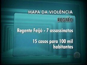 Sete cidades do Oeste Paulista aparecem em ranking com taxa de assassinatos de mulheres - Municípios estão entre os 1 mil do país com maior violência.