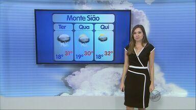 Confira a previsão do tempo para esta terça-feira (10) no Sul de Minas - Confira a previsão do tempo para esta terça-feira (10) no Sul de Minas