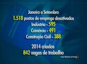 Contratações estão com o ritmo lento em Caruaru - Isso é refletido na procura por vaga na Agência do Trabalho.