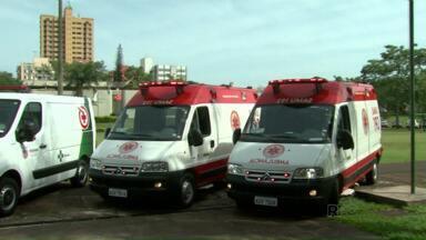 Prefeitura recebe quatro novas ambulâncias - Duas vão para o Samu e outras duas para as unidades básicas de saúde.