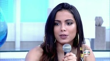 Anitta relembra início da vida profissional e itens que não podia comprar - Cantora revela que sempre preferiu poupar dinheiro a parcelar compras