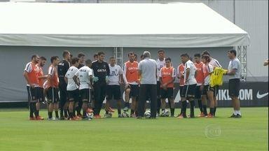Corinthians retorna da folga e vive expectativa de ser campeão contra o Vasco - Corinthians retorna da folga e vive expectativa de ser campeão contra o Vasco