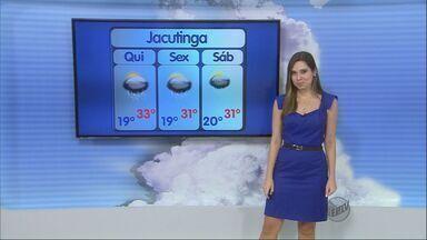Confira a previsão do tempo para esta quinta-feira (12) no Sul de Minas - Confira a previsão do tempo para esta quinta-feira (12) no Sul de Minas