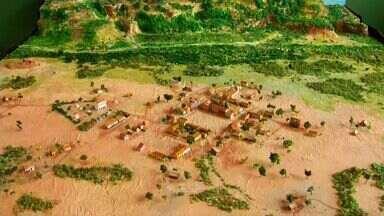 Alunos participam de concurso para pensar sobre temas para preservar o Geopark Araripe - Confira a reportagem de Biana Alencar.