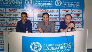 Lajeandese apresenta novo técnico para o Gauchão 2016 - Rodrigo Carpegiani vai comandar a equipe no estadual.