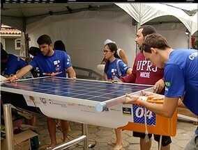 Barcos movidos a energia solar participam de competição em Búzios, no RJ - Desafio Solar Brasil acontece até o domingo (15) nas praias do balneário.
