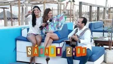 Chamada: Niara Meireles vai passear na praia com Luciana Araújo - Cantora solta a voz e fala sobre projetos.