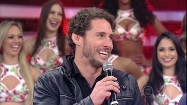 Flávio Canto relembra 'Dança': 'Estava nervoso, principalmente nas primeiras músicas' - Após eliminação, ex-atleta diz que as notas dos jurados foram justas