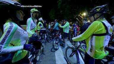 A prática do ciclismo nas noites de Brasília - A prática do ciclismo nas noites de Brasília