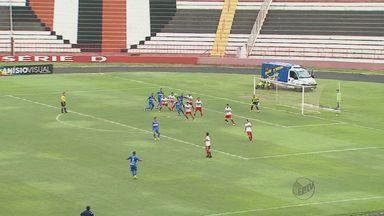 Botafogo-SP empata em jogo contra o São Carlos em Ribeirão Preto - Partida de troca de faixas de campeões terminou em 0 a 0 no Estádio Santa Cruz.
